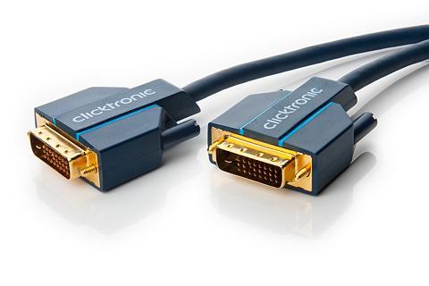 Clicktronic DVI-D Verbindungskabel »Videokabel dėl...