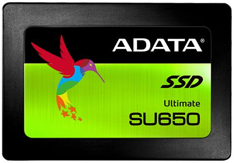 ADATA SSD intern »SSD 25 Ultimate SU650 120G...