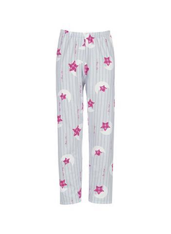 TRIGEMA Pižaminės kelnės Pinke Žvaigždė