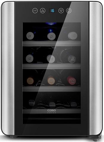 CASO DESIGN Vyno šaldytuvas Wine Dėklas Red 12 auk...