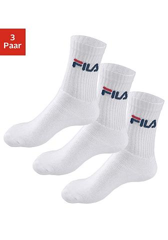 FILA Sportinės kojinės (3 poros) su verstär...