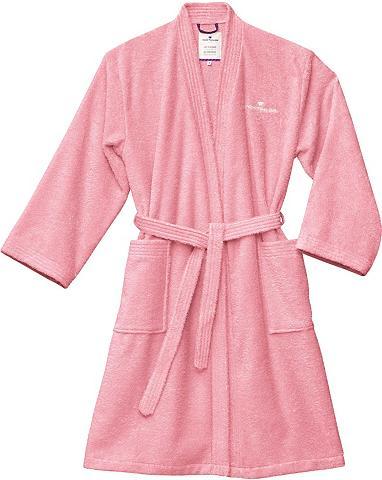 TOM TAILOR Chalatas »Kimono« su Logostickerei
