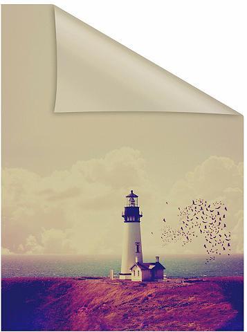 LICHTBLICK ORIGINAL Fensterfolie »Leuchtturm« blickdicht s...
