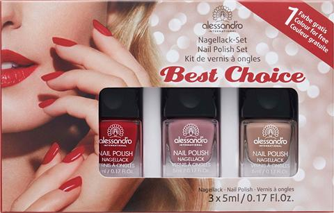 ALESSANDRO INTERNATIONAL »Nail Polish Bestseller rinkinys 3vnt....