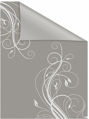 LICHTBLICK ORIGINAL Fensterfolie »Floral« blickdicht struk...