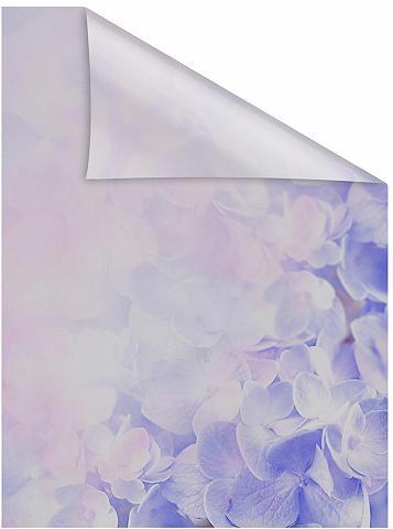 LICHTBLICK ORIGINAL Fensterfolie »Hortensie« blickdicht st...