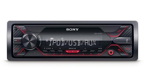 SONY 1-DIN Media Imtuvas su priekis USB lai...