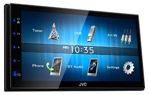 JVC 2-DIN Digital Media Imtuvas su Apple C...