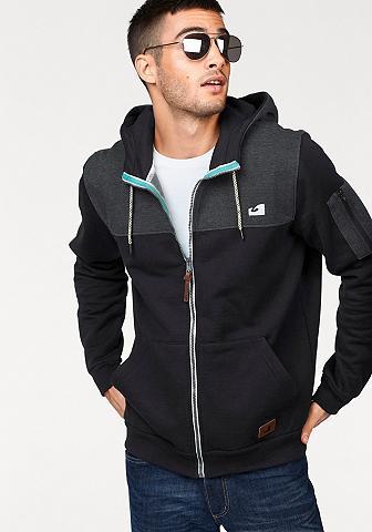 Ocean Sportswear Megztinis su gobtuvu viduje švelnus pū...