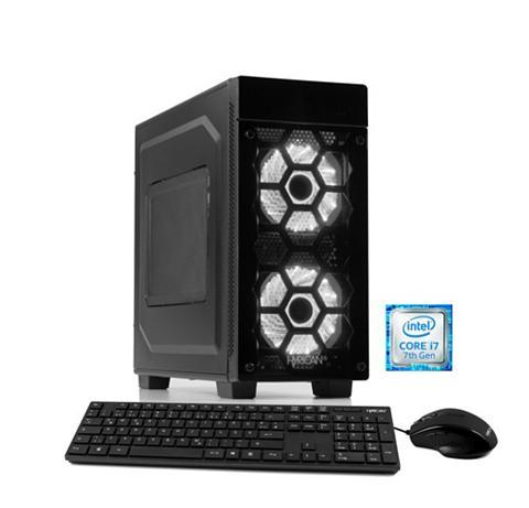 HYRICAN Žaidimų PC Intel® i7-7700 8GB 1TB 120G...