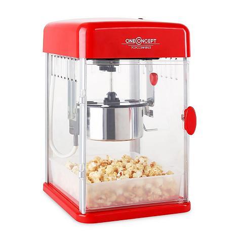 ONECONCEPT Popcorn maker Rührwerk Popcornmaschine...