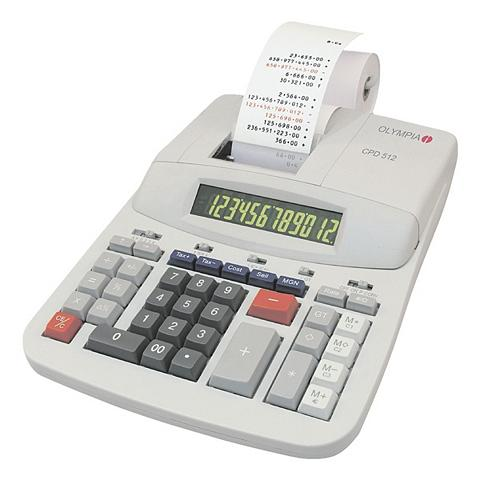 OLYMPIA OFFICE Druckender Skaičiuotuvas »CPD 512«