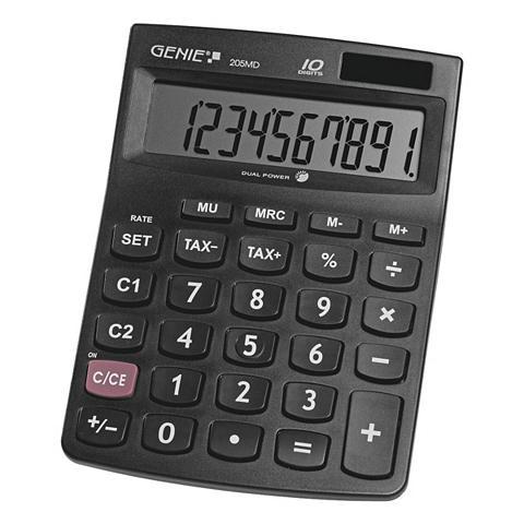 GENIE Skaičiuotuvas »205MD«