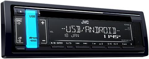 JVC 1-DIN Auto magnetola su USB- ir AUX-IN...