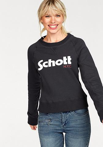 SCHOTT NYC Sportinio stiliaus megztinis »SW Ginge...