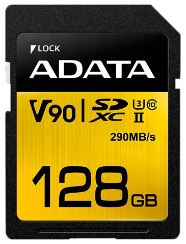 ADATA Atminties kortelė »SDXC UHS-II U3 Clas...