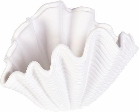 HOME AFFAIRE Bad-Schale »Muschel weiß 20 cm«