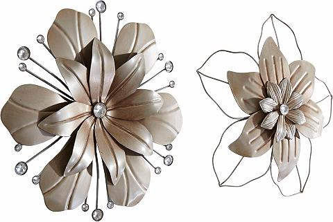 HOME AFFAIRE Sienos dekoracija »Blume« (2-tlg. rink...