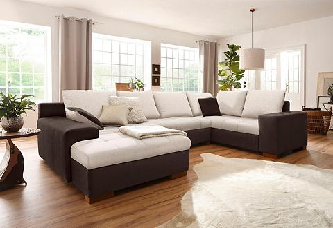 HOME AFFAIRE Sofa »Manitoba« patogi su miegojimo fu...