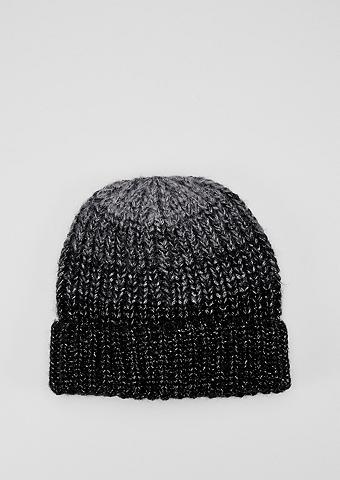 Megzta kepurė su Glitzergarn