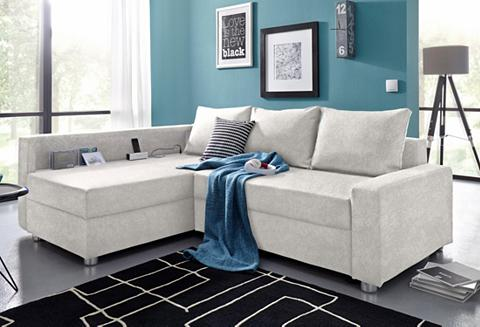 Kampinė sofa su miegojimo funkcija pat...
