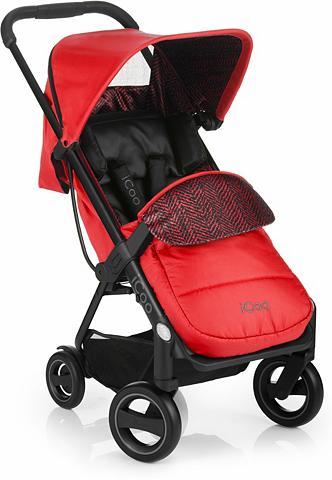 iCoo Kinder-Buggy »Acrobat Fishbone Red« su...