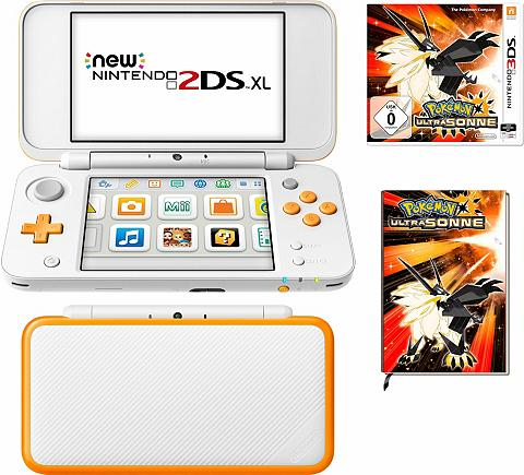 New Nintendo 2DS XL + Pokemon Ultrason...
