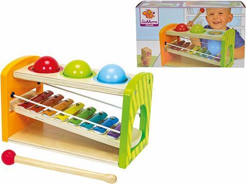 EICHHORN Medinis žaislas »Color Ksilofonas Klop...
