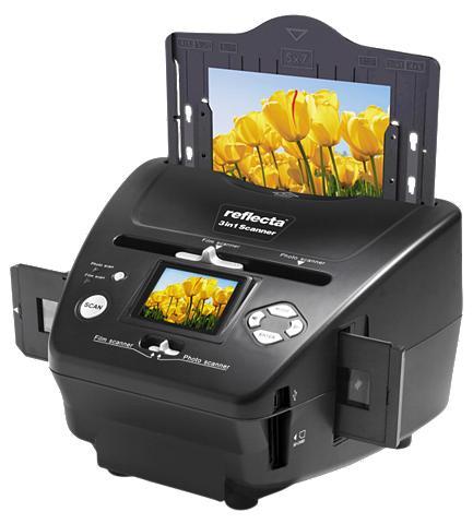 REFLECTA Dia- Negativ- & Fotoscanner »3 in 1 Sc...