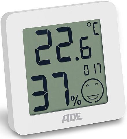 ADE Termometras-higrometras WS 1707 in juo...