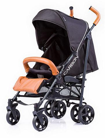 KNORR-BABY Vežimėlis-skėtukas »Carbon Art schwarz...