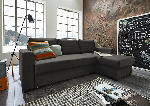 ATLANTIC HOME COLLECTION Kampinė sofa su miegojimo funkcija