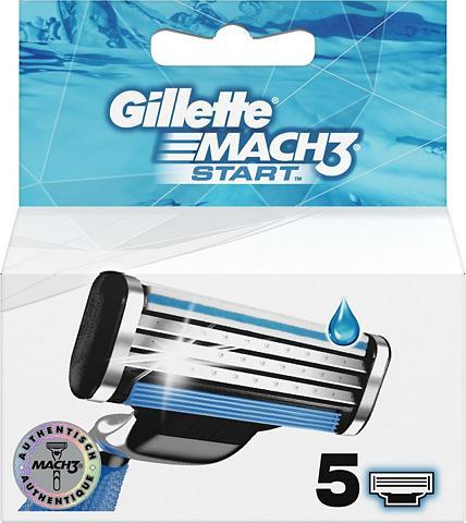 GILLETTE »Mach3 Start« skustuvo peiliukai 5 vnt...