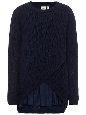 Ilgomis rankovėmis megztinis