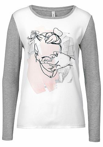 SOYACONCEPT Marškinėliai ilgomis rankovėmis »Biddi...