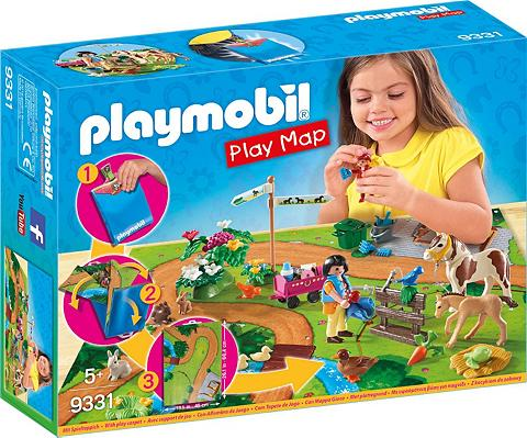 PLAYMOBIL ® Play Map Ponyausflug (9331) »Country...
