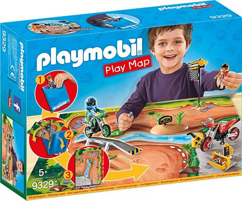 PLAYMOBIL ® Play Map Motocross (9329) »Action«