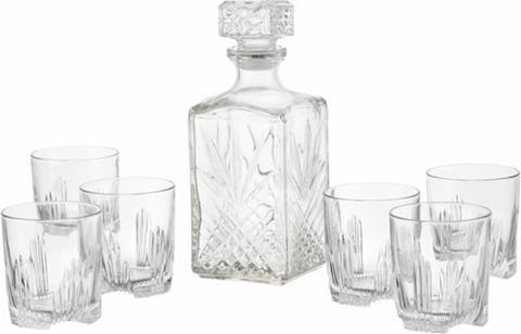 VAN WELL Rinkinys viskiui Strukturglas 7-teilig...
