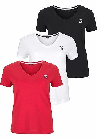 H.I.S Marškinėliai (Rinkinys 3er-Pack)