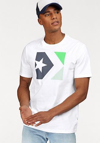 CONVERSE Marškinėliai » STAR CHEVRON TRI COLOR ...