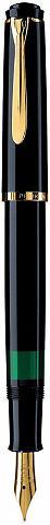 PELIKAN Plunksnakotis »Classic M 200 juoda spa...
