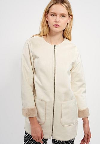 MEXX Dirbtinės odos paltas