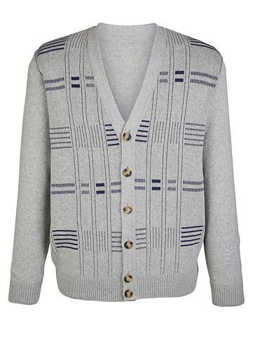 ROGER KENT Megztinis su klaiskinio stiliaus žakar...