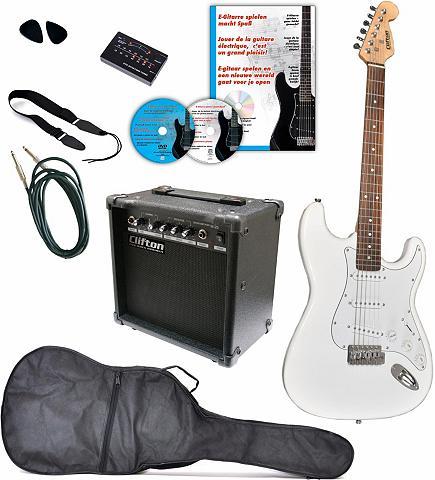 CLIFTON Gitarrenkomplettset »E-Gitarren rinkin...