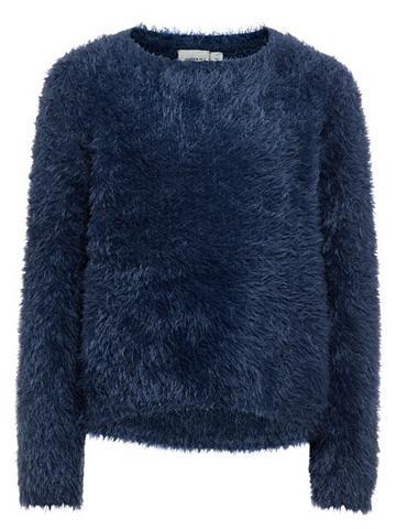 NAME IT Ilgomis rankovėmis megztinis
