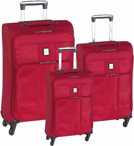 PARADISE ® Medžiaginis lagaminas ant ratukų rin...