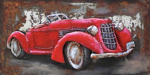 3D-Paveikslas »Old Timer Rot« 80/40 cm...