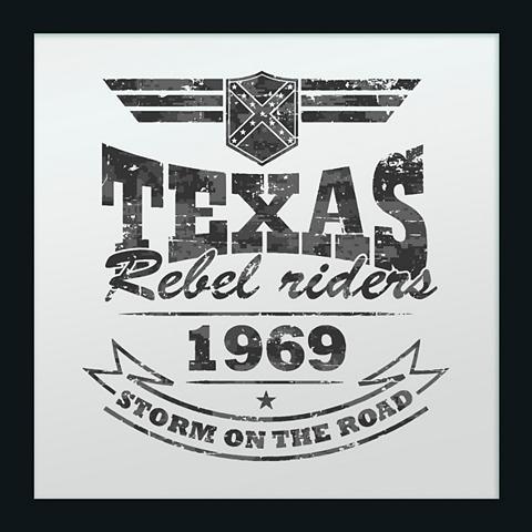 Paveikslas-veidrodis gerahmt »Texas Re...