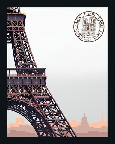 Paveikslas-veidrodis gerahmt »Eiffel T...