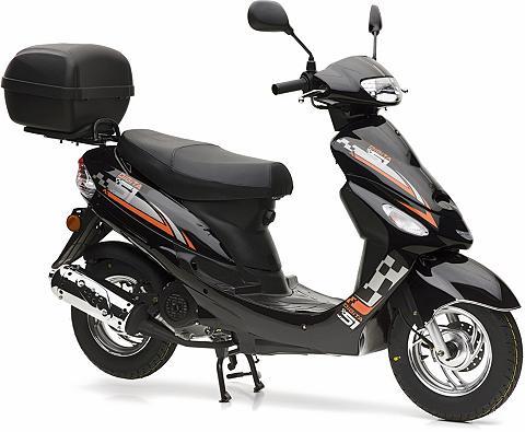 NOVA MOTORS Rinkinys: Motoroleris ir Daiktadežė 49...